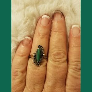 Jewelry - ☘️St Patrick's day☘️Vintage Malachite Ring